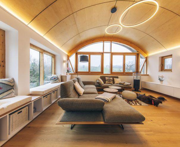 originálna obývacia izba