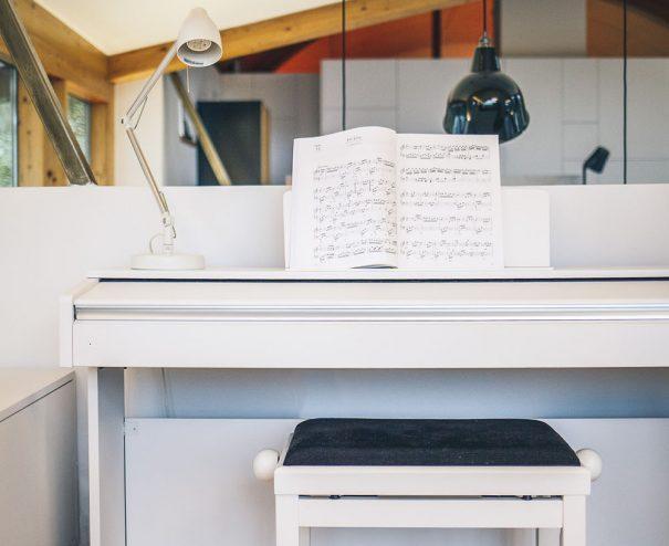 Interiér - klavír